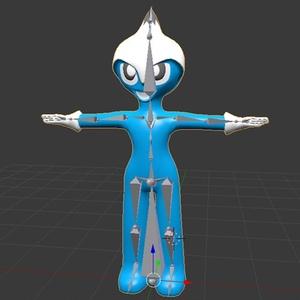 Blenderで制作したUE4用キャラクター