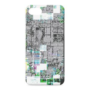 都市開発モザイクiPhoneケース