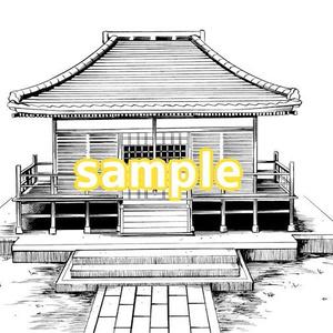 【背景素材】神社