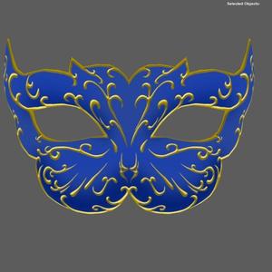 【3Dmodel】キャットマスク