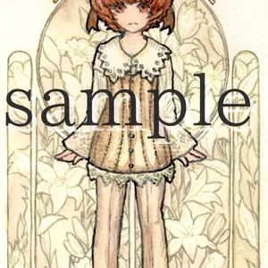 創作『lily collection』 ポスカサイズ ブロマイド7枚セット