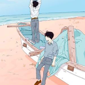 ポストカード 「海辺の待ち合わせ」