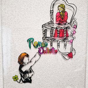 ロミオとジュリエット 切り絵