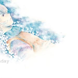 Birthdaysong is blue