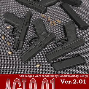 AGL9-01 for Poser