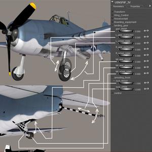 USNGF6F-01 for Poser