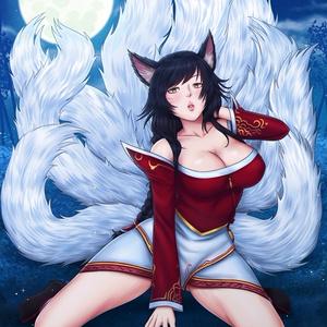 League of Legends - Ahri Poster