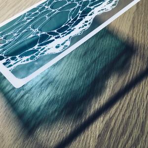透明ポストカード(siranami)