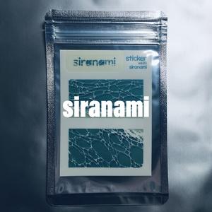 透明ステッカー(siranami)