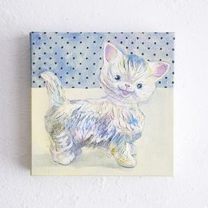 【原画】Vintage animals : Kitty