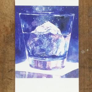 【再入荷】Rocks Glass ポストカード