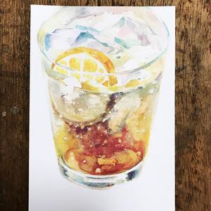 【NEW】ginger ale ポストカード