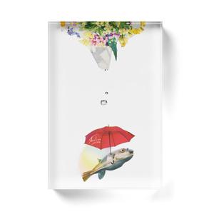 hugu umbrella アクリルブロック