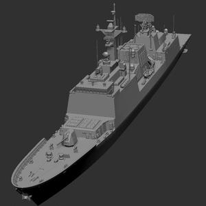【受注生産】 1/700  韓国海軍 チュンムゴン・イ・スンシン (3Dプリント製キット)※概要欄を最後まで必ずご覧ください