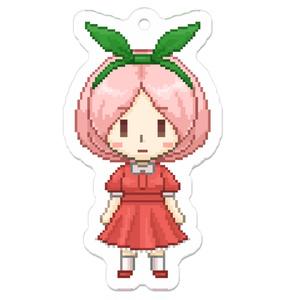 苺ミルクちゃんドット絵アクキー