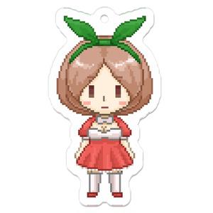 苺チョコちゃんドット絵アクキー