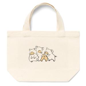 子豚四兄弟のミニトートバッグ