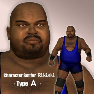 Rikishi用 Character Set (Type A)