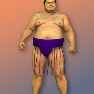 Poser用フィギュア Rikishi