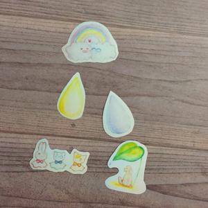 YOI雨の日フレークシール