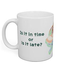 リーナ「間に合うか、それとも遅刻か?」マグカップ ★オンデマンド販売
