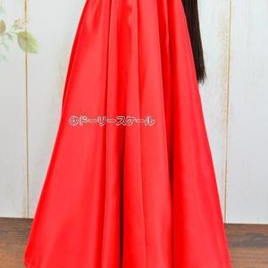ドレス下ロングの型紙