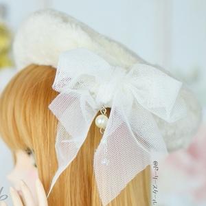 ベレー帽の型紙