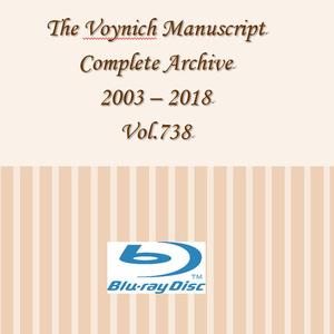 商品番号-004R ヴォイニッチの科学書 音源ディスク 2003-2018年版(ブルーレイ)