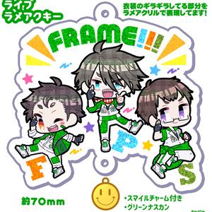 【SideM】FRAMEライブラメアクキー