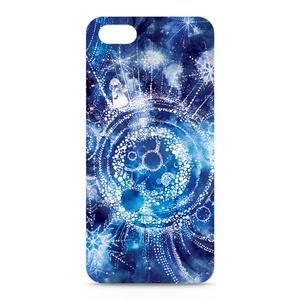 iPhone5,5Sケース・側面あり【雪星の旅人】