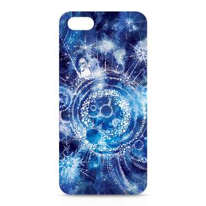 iPhone5,5Sケース・正面印刷【雪星の旅人】