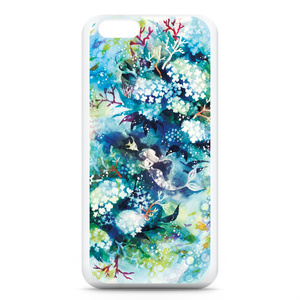 iPhone6ケース【花咲く水底】