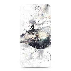 iPhone5,5Sケース・正面印刷【祈り星ワンピース】