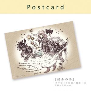 【ポストカード】彼女の章(5種)
