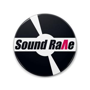 Sound Rave ロゴ缶バッジ