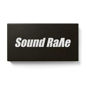 Sound Rave ロゴモバイルバッテリー