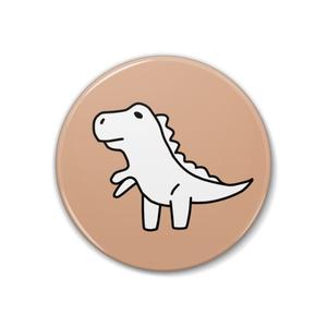 恐竜缶バッチ【ティラノサウルス】
