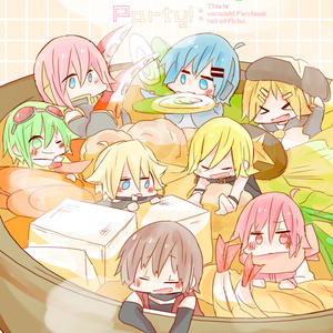 【ボカロ亜種男子ズ】Domestic cooking party!
