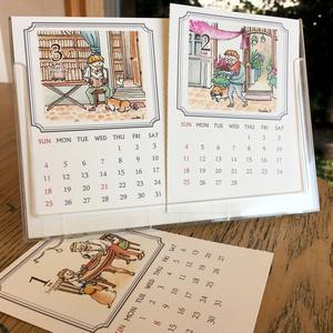【販売終了】2018年おじいさん卓上カレンダー