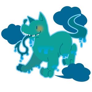 ティンダロスの猟犬ウッドキーホルダー