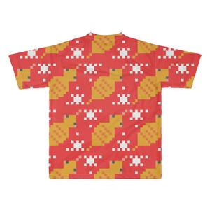 クソダサツチノコドット両面Tシャツ