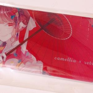 椿×レトロiPhoneケース