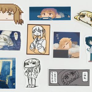 yakibiifunステッカーセット①(通常版)