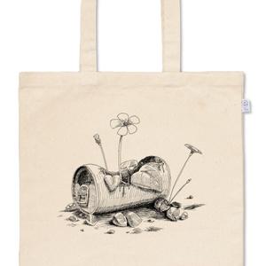 「草生える」トートバッグ