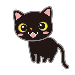 【FaceRig用アバター】【動物】黒猫