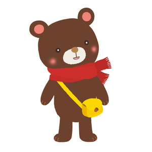 【FaceRig用アバター】【動物】鞄熊