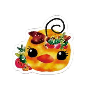 ●苺ぴぃぴぃ・バッジ●