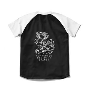 ●苺くまごろう&きゃんでぃ&ぴぃぴぃTシャツ●