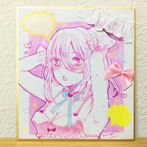 ミニ色紙5