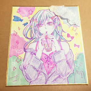 ミニ色紙2